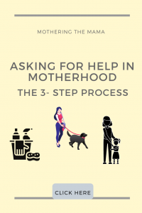 as a mom how to ask for help