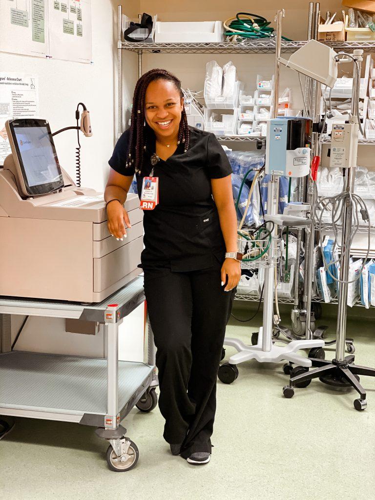 nurse mom decompression tips