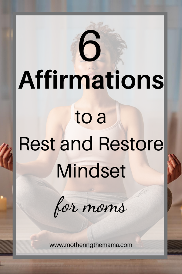 mtm rest and restore affirmations