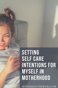self care intentions setting