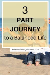 balanced life in motherhood