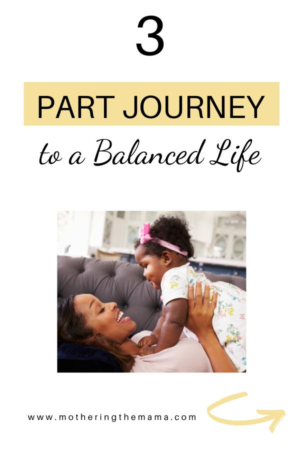 balanced life in motherhood journey