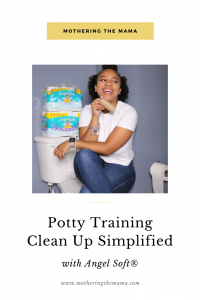 potty training clean up simplified