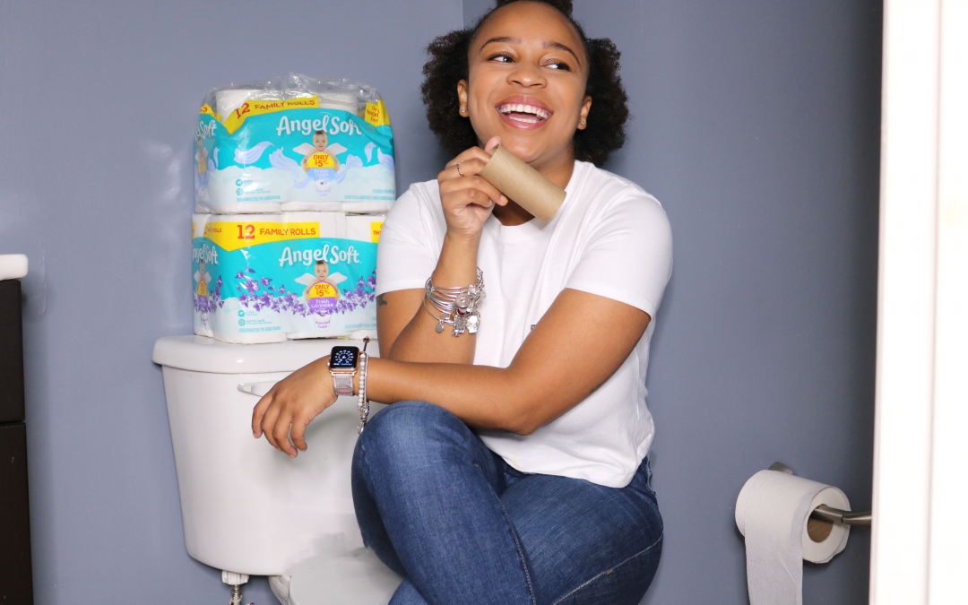 Potty Training Clean Up Simplified with Angel Soft