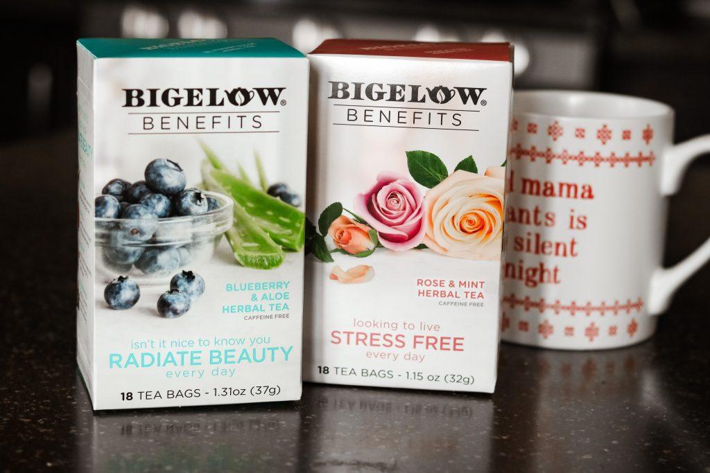 Bigelow tea holiday self care