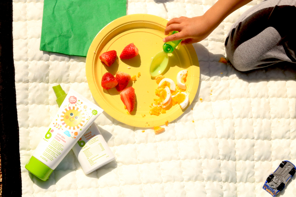 planning the perfect Spring picnic for toddlers